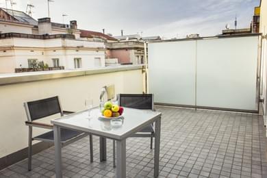 Habitación Doble Superior con terraza
