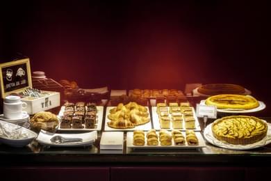 Buffette desayuno